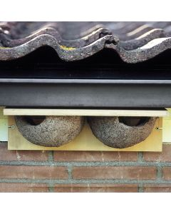 Vivara nestkast huiszwaluw dubbel houtbeton