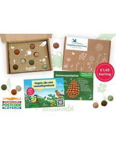 Postcode Loterij Voordeelagenda 2022 - Blossombs cadeaupakket met 7 zadenbommetjes