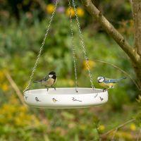 Waterschaal met tuinvogels - Elwin van der Kolk