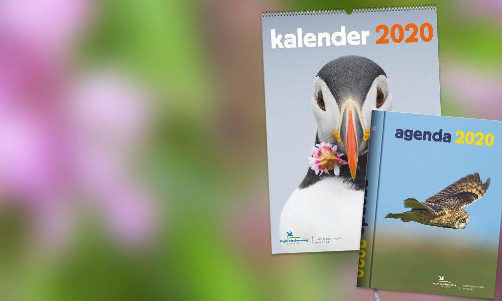Kalender agenda 2020