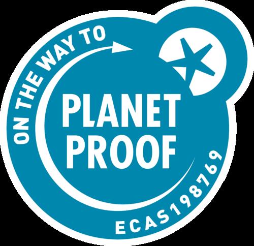 Duurzaamheid keurmerk 'On the Way to PlanetProof'