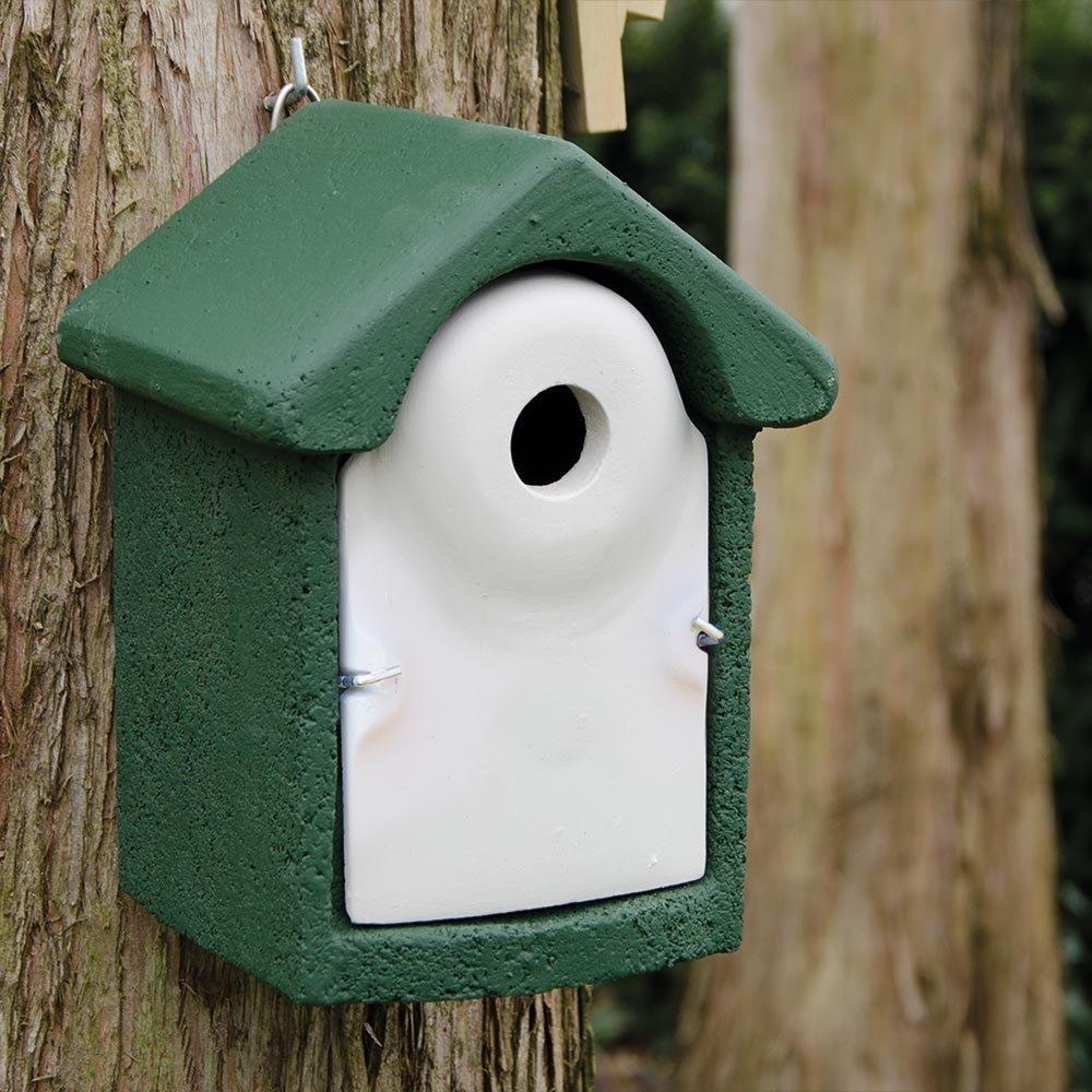 Nestkast houtbeton 32 mm groen