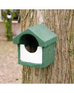 Nestkast houtbeton groen halfholenbroeders
