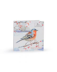 Vogelbescherming Kaartenset Wintervogels - Michelle Dujardin