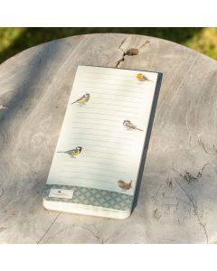 Notitie magneetblok Tuinvogels - Elwin van der Kolk