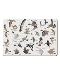 Placemat Vogels