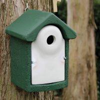 Nestkast houtbeton groen 32 mm