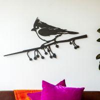 Metalbird kuifmees XXL
