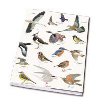 Vogelbescherming schrift 'vogels' A5